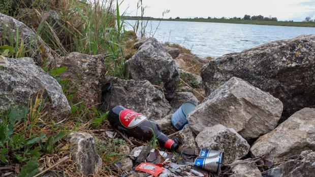 Imagen de uno de los rincones del entorno del lago