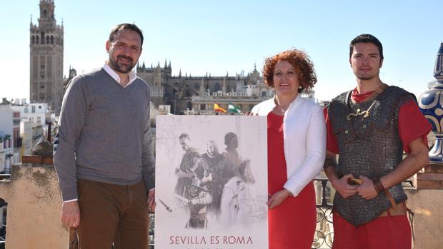Presentación de «Sevilla es Roma», que se celebra este fin de semana en los Jaridnes del Prado