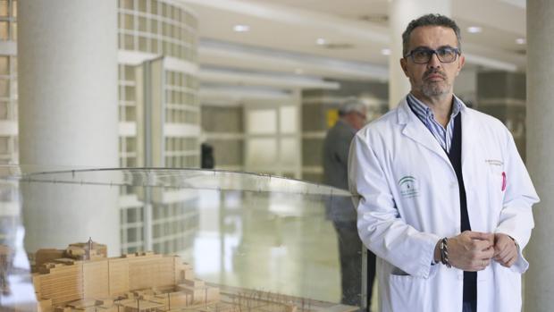 Manuel Ruiz Borrego en el hospital Virgen del Rocío