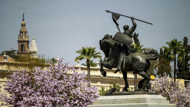 Monumento de El Cid en Sevilla