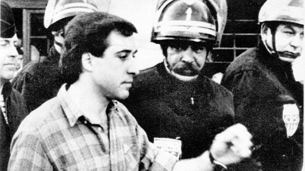 Henri Parot, en el momento de su detención en un control rutinario en Santiponce