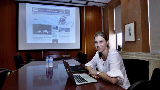 Peláez en un encuentro digital celebrado en la Casa de ABC en mayo de 2015