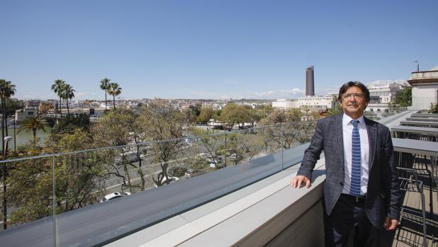 Luis Miguel Martínez, propietario del nuevo hotel Kivir
