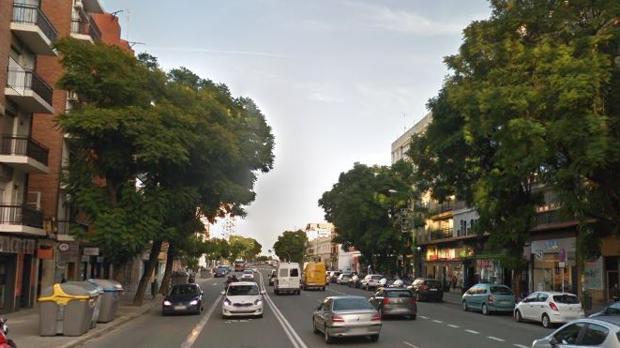 Calle Luis Montoto de Sevilla