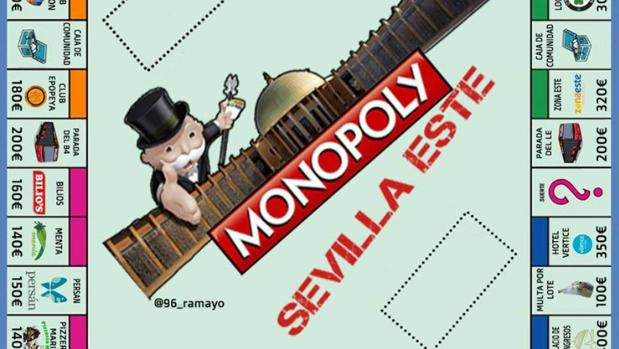 Monopoly de Sevilla Este creado por un tuitero
