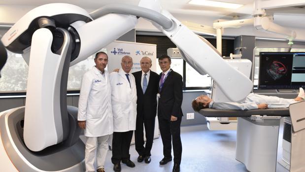 El Hospital Vall d'Hebrón tendrá el primer robot radiológico del mundo en endoscopia