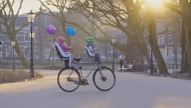La bicicleta de Google que se conduce sola