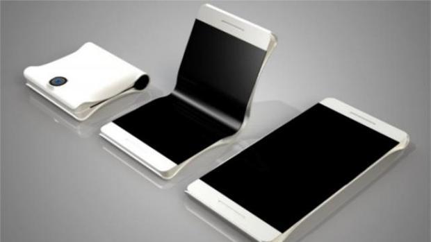 Los «smartphones» plegables podrían llegar en 2017