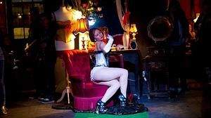 Uno de los rincones de Pensao Amor, local de moda en la noche lisboeta