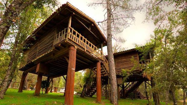 Caba as y casas rurales para visitar cazorla - Casa rural de madera ...