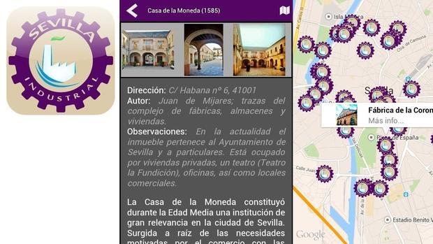 Aplicación para móviles Sevilla Industrial, para amantes de la ingeniería y la arquitectura