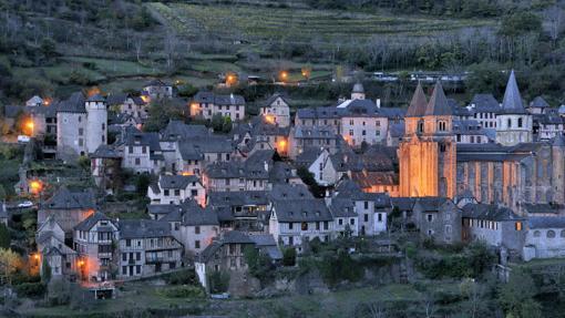 Ciudad medieval de Conques