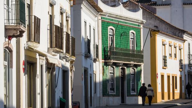 Típicas calles de Évora