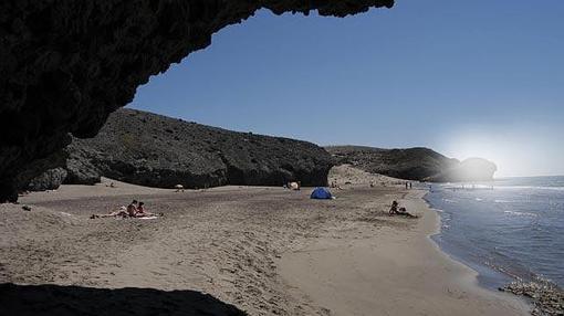 Vista de la Playa de los Muertos