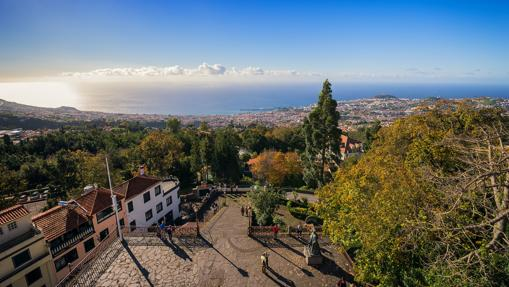 Vista general de Funchal