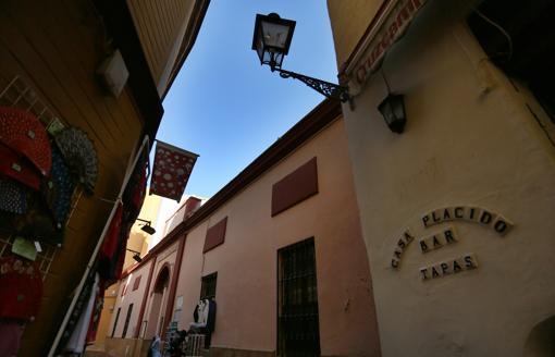Barrio de Santa Cruz, en Sevilla