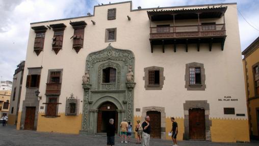 Plaza del Pilar Nuevo, en el barrio de La Vegueta