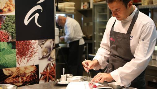David García, Jefe de cocina de Álbora
