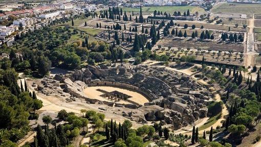 Ruinas de Itálica. Fuente: andalucia.org
