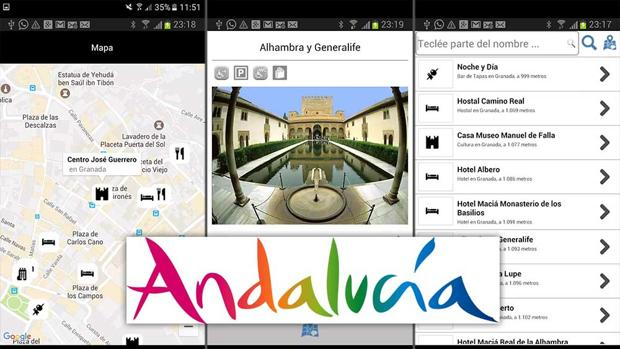 Andalucía Turismo estrena app oficial para móviles