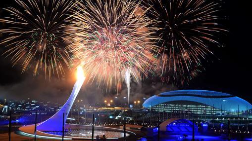 Ceremonia de clausura de los JJ.OO. de Sochi, en 2014