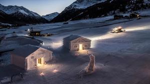 La suite más original y nevada para una escapada romántica