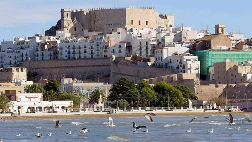 Castillo de Peñíscola, visto desde la playa