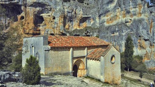 Ermita de San Bartolomé (Cañón del Río Lobos)