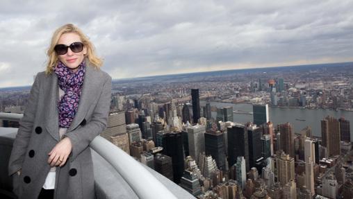La actriz Cate Blanchett es una de las afortunadas que ha podido acceder al Observatorio