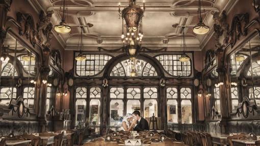 Encanto y glamour en el café Majestic