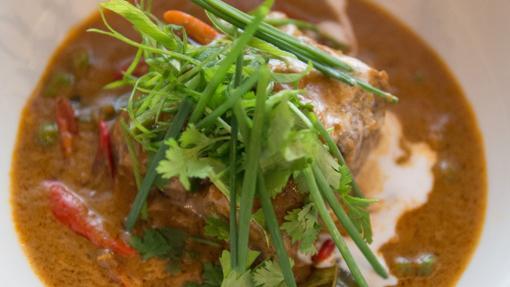 Curry de carrillada, en Sudestada