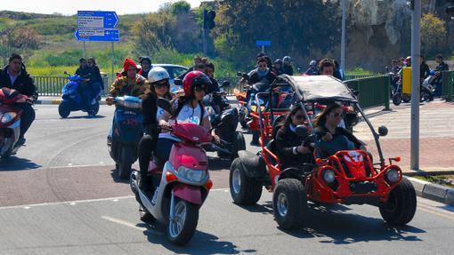 Carrera motorizada en el Nuevo Pafos