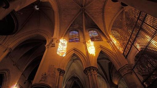 Una imagen del vídeo sobre las vidrieras de la catedral, elaborado por Sitios de España