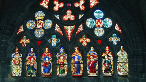 Vidrieras de la catedral de Ávila
