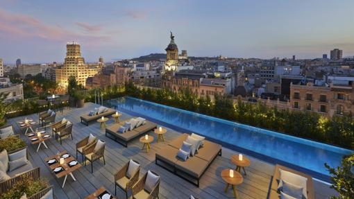 Azotea del Barcelona Mandarin Oriental
