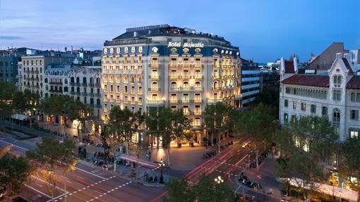 Fachada del hotel Majestic