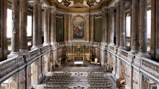Capilla del Palacio Real de Caserta