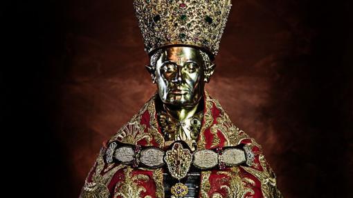 Busto de San Gennaro, en el Museo del Tesoro