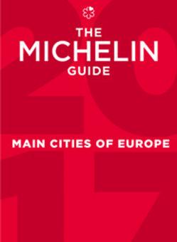 Portada de la nueva Guía Michelin dedicada a las ciudades europeas