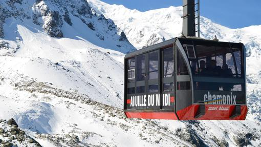 Teleférico de la Aiguille du Midi