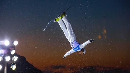Una de las pruebas del campeonato de Snowboard y Freestyle. Fuente: sierranevada2017.es