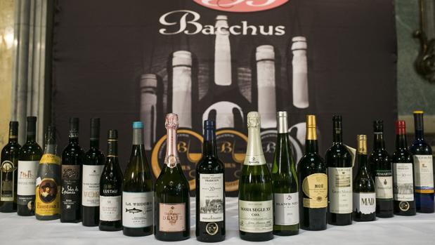 Los vinos distinguidos con el «Gran Bacchus de Oro 2017»