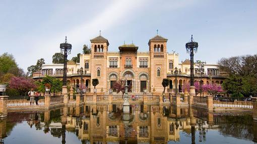 Fachada del Museo Arqueológico de Sevilla