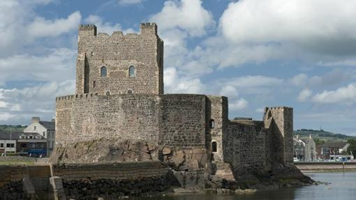 Castillo de Carrickfergus en el Condado de Antrim