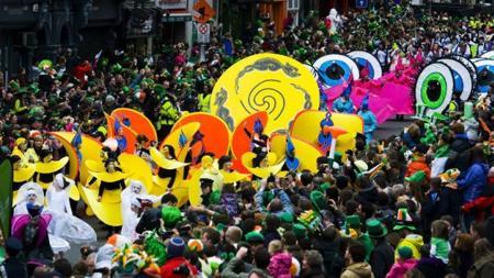 Desfile de San Patricio, en Dublín