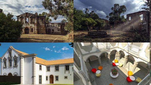 De convento en ruinas a hotel de lujo