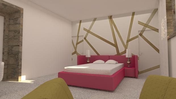 Prototipo de las habitaciones del complejo
