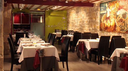 Sala del restaurante El Doncel