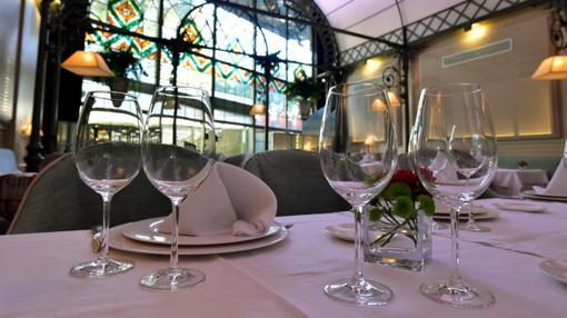 Mesa en el Restaurante Oriza