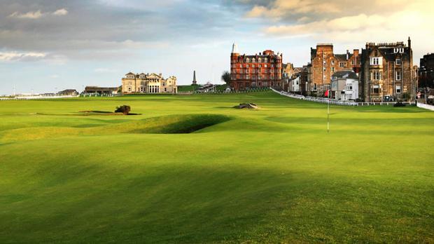 El Old Course de St. Andrews, la cuna del golf, el mejor campo del mundo